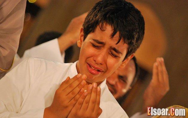 صور دعاء يبكي