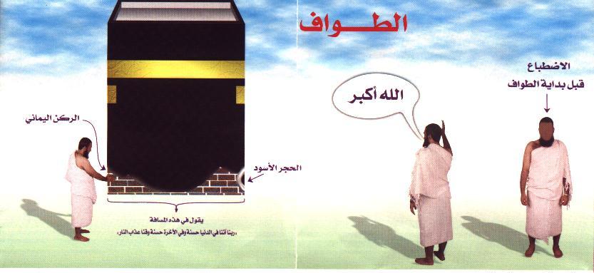 صور ادعية طواف العمرة